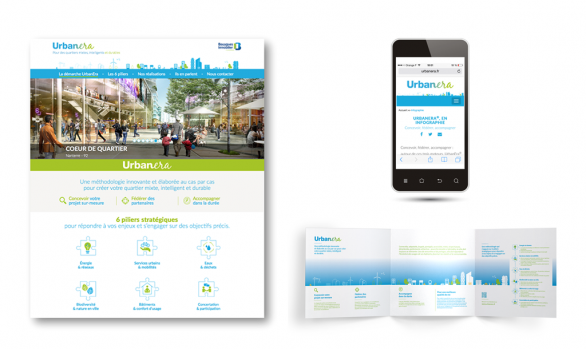 Site web 'responsive' et plaquette UrbanEra<sup>®</sup>