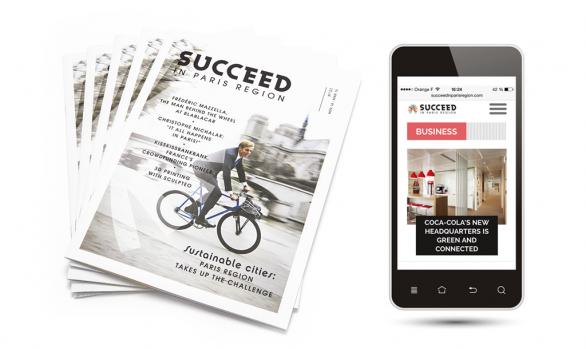 Le mag' cross-média <br />Succeed in Paris Region