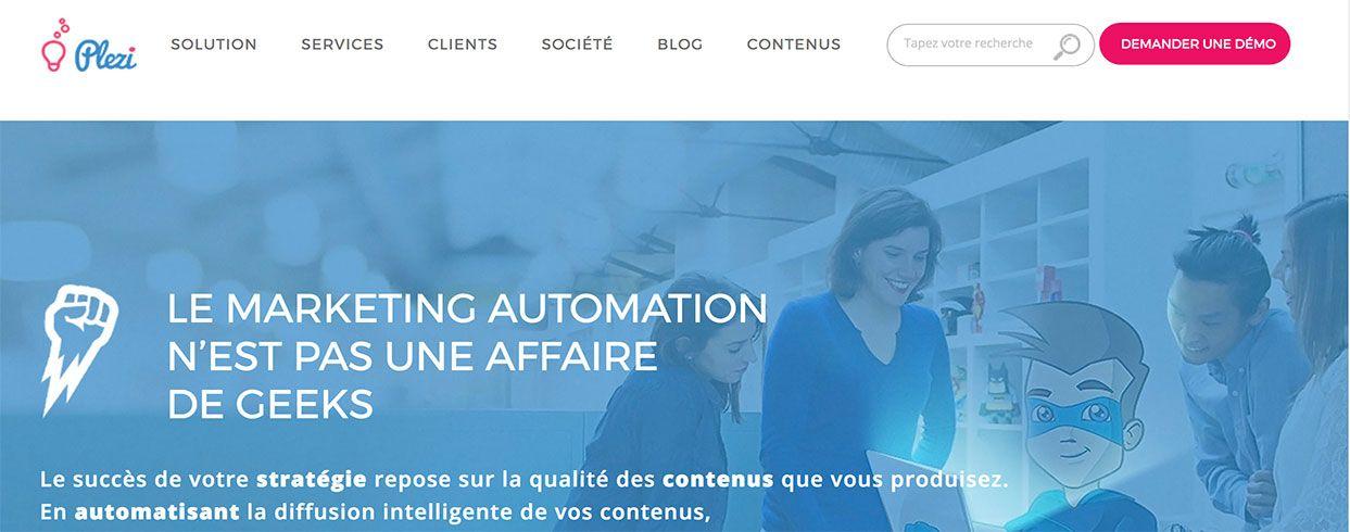 Plezi Marketing Automation